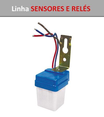 Linha Sensores e Relés
